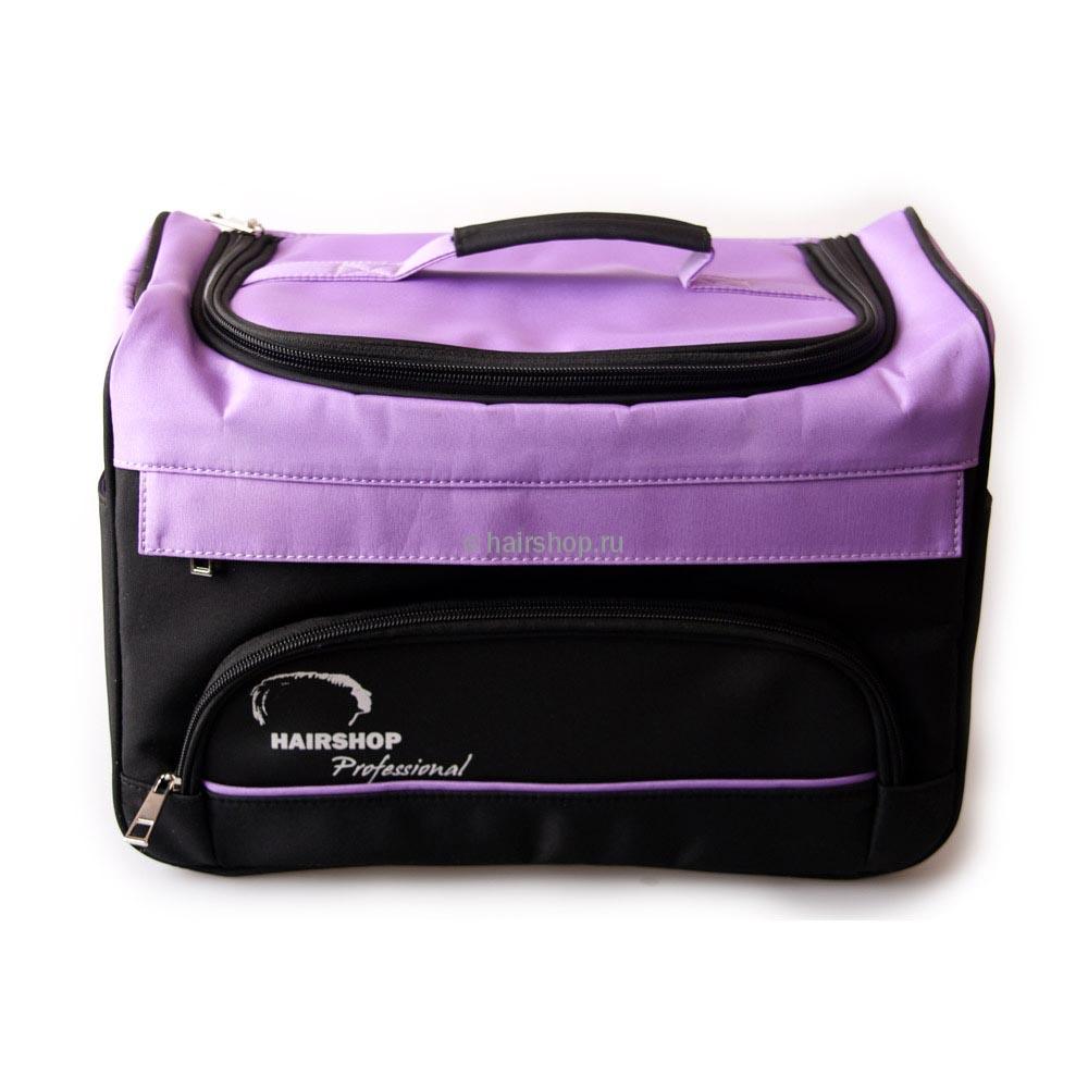 d41b6080bf85 Чемоданы   Парикмахерская сумка-бокс BH281 (большая) фиолетовая